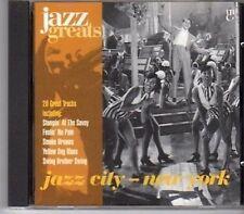 (CA159) Jazz City, New York - 1997 Jazz Greats CD No 030
