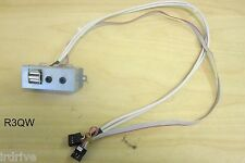 Desktop PC Front Panel Dual USB,Audio (Mic Headphone) Ports w/ Connector Cables