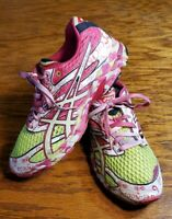 Asics Gel Noosa Tri 6 Women's Running Shoes Pink/White T163N Sneaker Size US 9.5
