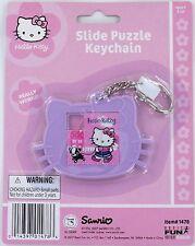 Hello Kitty Slide Puzzle Keychain Keyring Sanrio Retired 1478 Moc New Cat Key