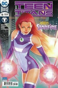 Teen Titans Comic 16 Cover A First Print Sami Basri Jessica Kholinne 2018 DC