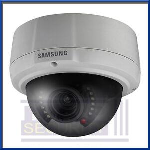 "Samsung SCV-2081R Dome Camera 1/3"" High Res 600TVL, IR LED 2.8-10mm Vandal Proof"
