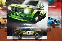 BMW  2002 - SERIE BMW - HOT WHEELS-SCALA 1/55