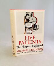 Five Patients-Michael Crichton-SIGNED!!-First/1st BCE-Basis For Hit Show ER-RARE