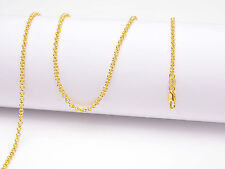 1PCS 20inch 18K Yellow Gold Filled Pearl Cross Chain Necklaces Wholesale