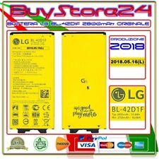 BATTERIA ORIGINALE LG BL-42D1F PER G5 H840 G5 GENUINE BATTERY  SE 2800mAh