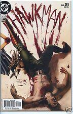 Hawkman 2002 series # 21 near mint comic book