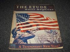 The Etude Music Magazine -  January 1944 - A Triumphant New Year