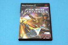 Playstation PS2 Spiel - Star Wars Starfighter - in OVP