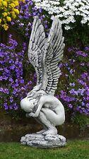 Steinfigur Nr.602 Rachel Engel Frau Flügel ca. 72 cm ca. 20 kg Wetterfest