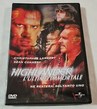 Highlander l'ultimo immortale - Dvd (1986)
