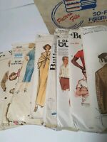 Vintage Sewing Patterns Lot of (40) 1950s-2000s McCall Vogue Advance Butterick