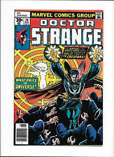"Doctor Strange #24 [1977 Vf+] ""What Price The Universe?"""