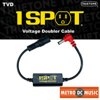 Truetone TVD Pedal-Voltage-Doubler Cable 1-Spot 9-18 12-24 No Switch Noise NEW
