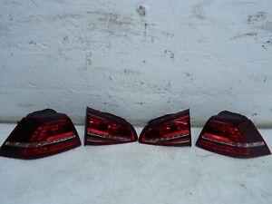 VOLKSWAGEN MK7 2012-2019 GTD REAR LIGHT COMPLETE SET LED 5G0945207-208-307G-308G