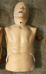 LAERDAL PN 375-10001 NG Tube and Trach Care Trainer Airway Intubation Manikin