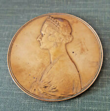 Belgium Médaille Sa Majesté Astrid Reine de grace et de bonté 1934-1935 Devreese