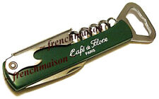 Cafe de Flore French Wine 4-in1 Corkscrew/Beer Opener/Pocket Knife from Paris