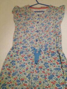 edad 5-6 Nuevo Mini Boden Niñas Playsuit Mono Pantalones Cortos 145