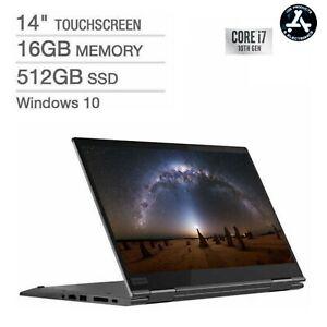 Laptop Lenovo ThinkPad X1 Yoga 2-in-1 Touchscreen i7 10th Ge 16GB RAM 512GB SSD