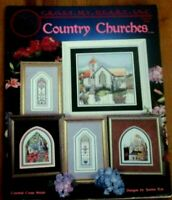 Cross My Heart Inc Country Churches Religious Counted Cross Stitch Patterns 1996