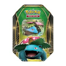 Venusaur EX Power Tin Holo Pokemon Card XY Collectible Tin | inc 4 Booster Packs