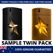 Thierry Mugler A*Men Pure Havane AND Pure Malt - Sample Spray 2ml 5ml 10ml