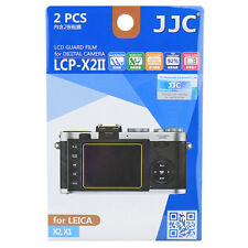 2x Film LCD Screen Display Hard Protection for Leica X2 X1