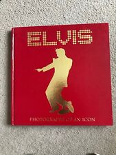 "Elvis book Photographs Of An Icon 14""x14"" heavy hardback from 2008 220pgs glossy"