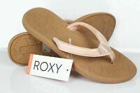 Roxy Women's Vickie Flip Flop Sport Sandals Size 7 Rose Gold