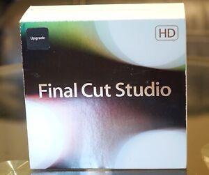 Apple Final Cut Studio (Retail (License + Media)) (1 User/s) - Upgrade for Mac