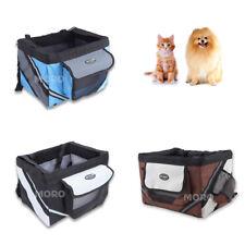 More details for 3 colors pet cat dog bike carrier basket bag f bicycle seat travel +safety belt
