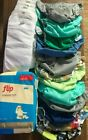 unused+reusable+diaper+covers+and+inserts+for+baby+multi+colors
