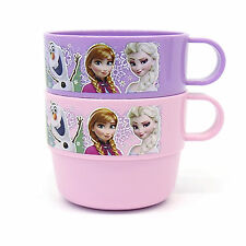 Disney Frozen Elsa Anna Olaf Handle Cup 2P Princess Kids Drink Cups boy girl