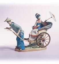LLADRO AWESOME&SUBLIME RICKSHAW RIDE/RIDE IN CHINA#1383 -PLEASE SUBMIT UR OFFERS