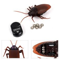 Simulation Infrared RC Remote Control Scary Creepy Insect Cockroach Toys For Kid