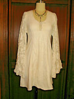 Ultimate Boho Gunne Sax Dress by Jessica McClintock Size 7 Very Rare Mini Dress