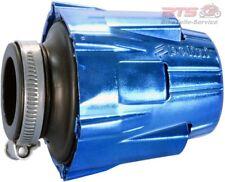 Luftfilter Polini Blue Air Box 46mm gerade blau-schwarz-Adly/Herchee,Aeon,AGM