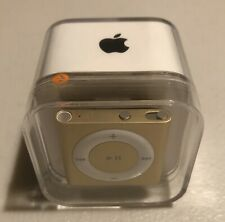 Factory Sealed Apple iPod Shuffle Gold 4th Generation (2GB)