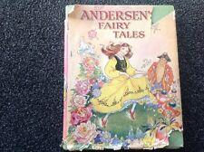 Hilda Boswell's Andersen's Fairy Tales vintage Hardcover Dust jacket BEAUTIFUL