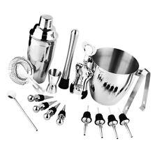 16 Pieces Cocktail Shaker Accessories Set Barware Bar Mixing Making Kit Tool
