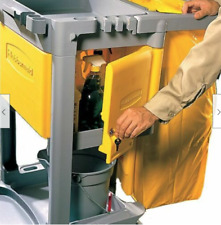 Fg618100yel Rubbermaid Yellow Locking Cabinet Door Kit For Janitorial Carts New