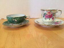 Vintage Tea Cups (2) 1 Enesco And 1 Japan