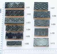 Ornamente Jugendstil Wäschestempel Stempel Stoffstempel Textildruck Weißwäsche