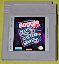 Boggle Plus (Nintendo Game Boy, 1992)