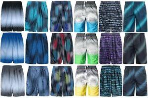 Men's Swimming Shorts Quick Drying Mesh Lined Swimwear Board Beach Swim Trunks
