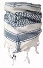 Baby Pali panno bianco-blu Frange Sciarpa per Bambini