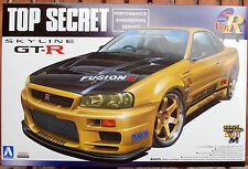 2000 Nissan Skyline GT-R R 34 Top Secret, 1:24, JDM Aoshima 053041