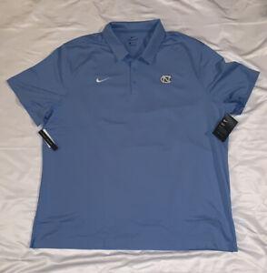 Men's Nike UNC North Carolina Tar Heels Collegiate Varsity Polo NWT 3XL