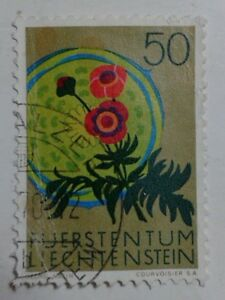 Liechtenstein Stamp - 50